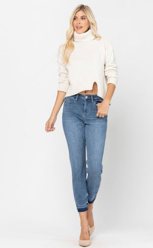 THERMA-DENIM Boyfriend Jean by Judy Blue