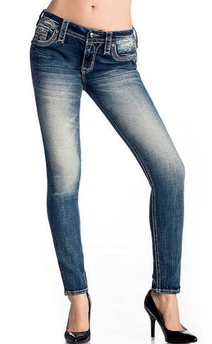 Rock Revival Rio Red Skinny Jean