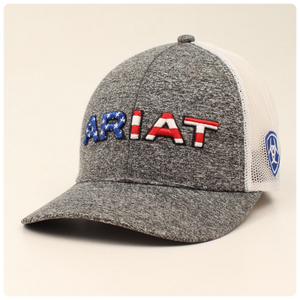 Ariat Mens Embroidered USA Flag Cap