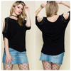 Vocal Cold Shoulder Top