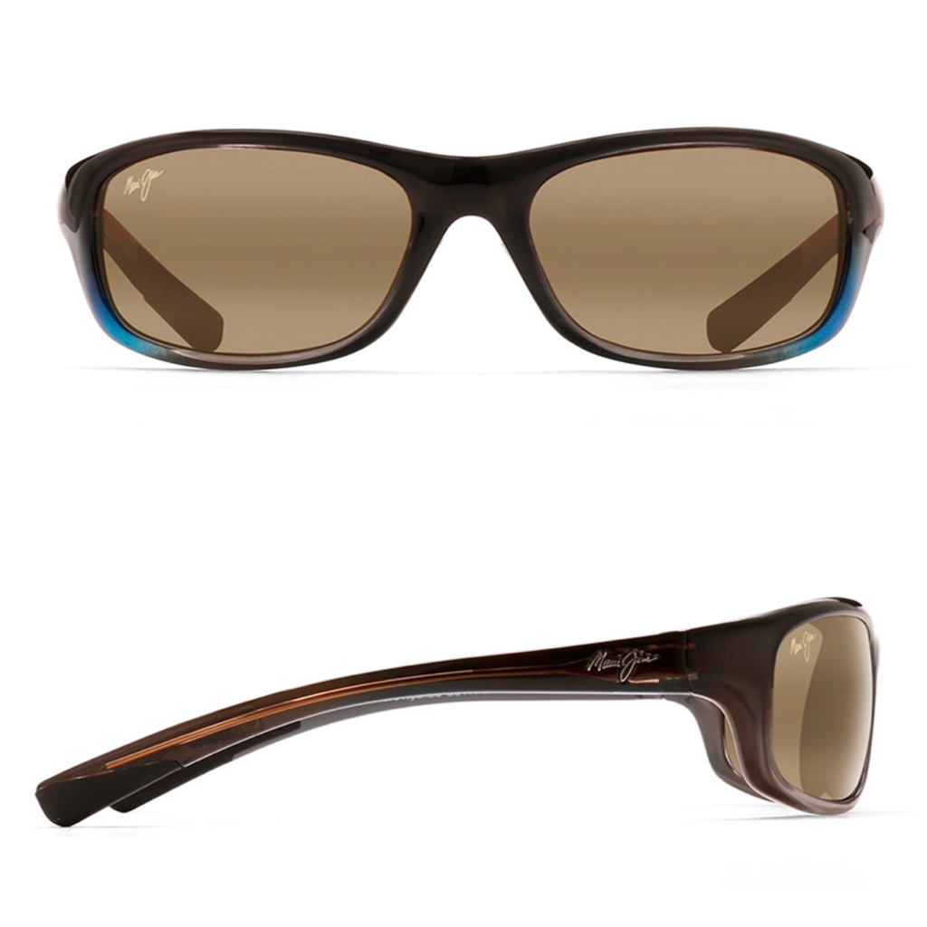 Maui Jim KIPAHULU Polarized Wrap Sunglasses
