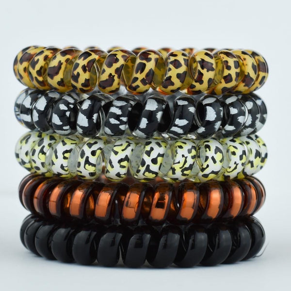 Hotline Hairties - Leopard pack