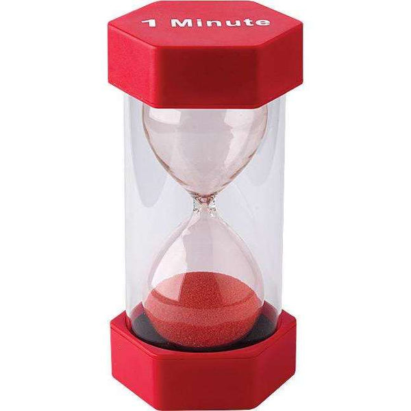 1 Minute Sand Timer - Large:Primary Classroom Resources