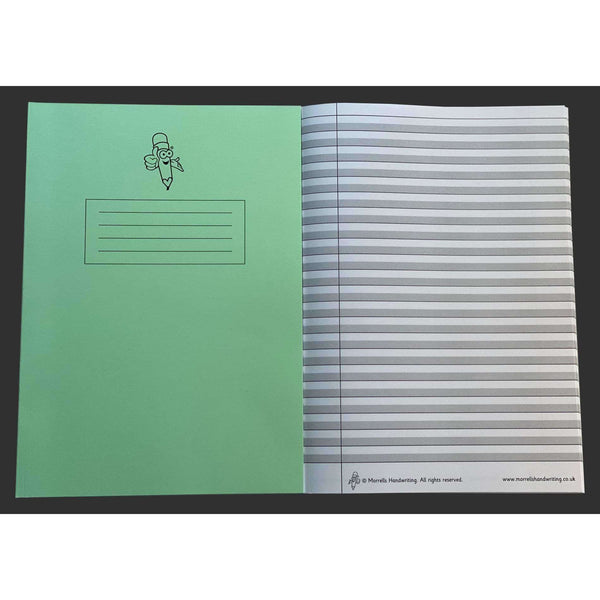 Wide Lined Handwriting Exercise Book:Primary Classroom Resources