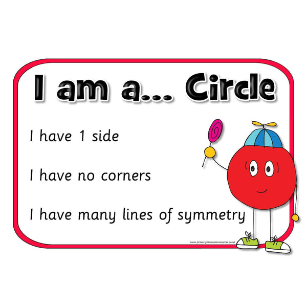 2D Shapes Properties Posters:Primary Classroom Resources