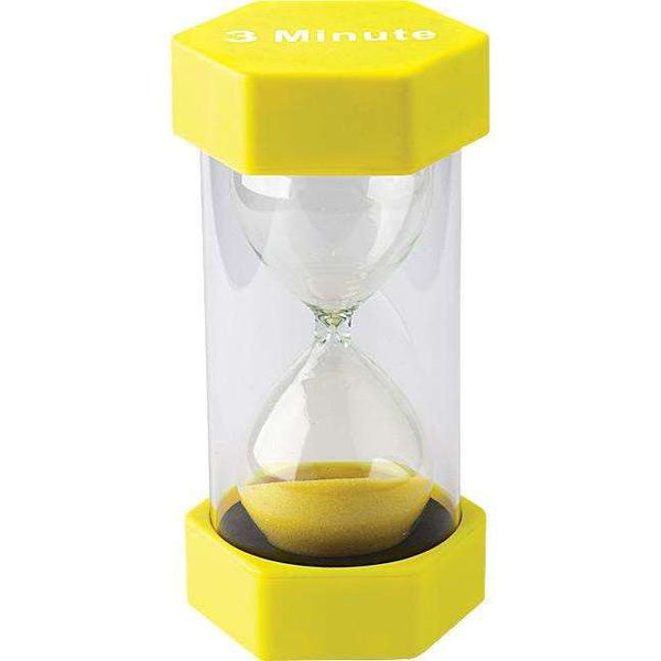 3 Minute Sand Timer - Large:Primary Classroom Resources