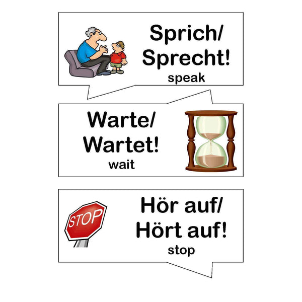 German Classroom Commands:Primary Classroom Resources