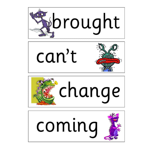 Monsters Year 4 Keywords:Primary Classroom Resources