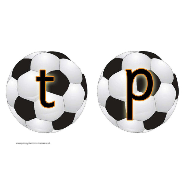 Phase 2 Grapheme Footballs:Primary Classroom Resources