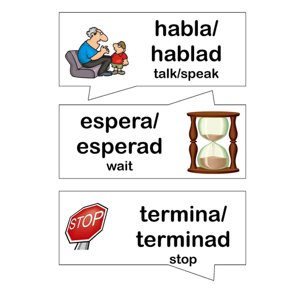 Spanish Classroom Commands:Primary Classroom Resources