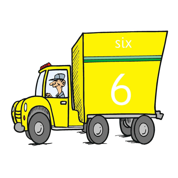 Trucks Number Cards 0-19:Primary Classroom Resources