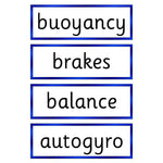 Friction Key Vocabulary Flashcards:Primary Classroom Resources