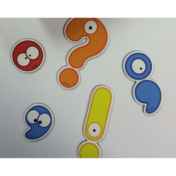 Giant Punctuation Character Magnets - Economy:Primary Classroom Resources