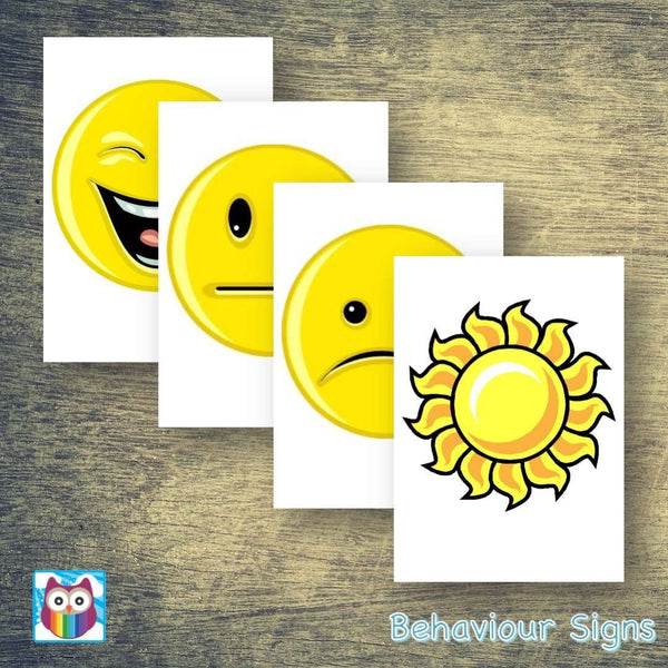 Behaviour Signs:Primary Classroom Resources