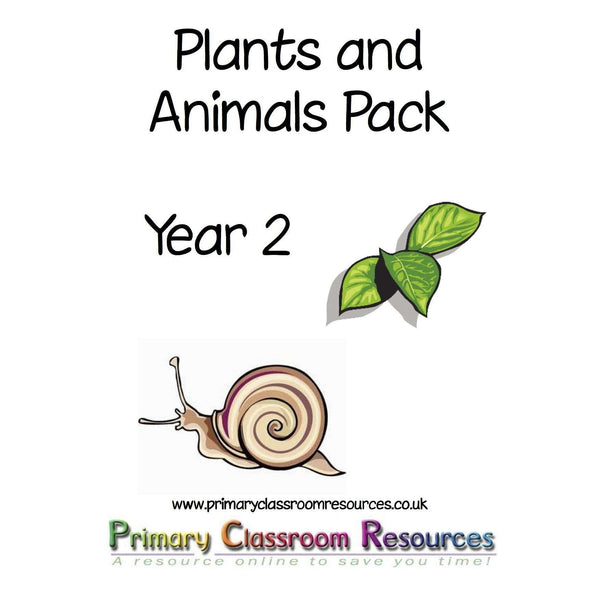 Plants and Animals Pack:Primary Classroom Resources