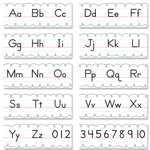 Traditional Manuscript Alphabet Line Classroom Display Set:Primary Classroom Resources