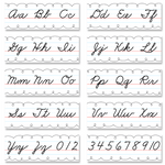 Cursive Alphabet Line Classroom Display Set:Primary Classroom Resources