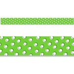 Doodle Dots on Lime Classroom Display Border:Primary Classroom Resources