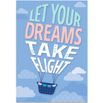 Let Your Dreams Take Flight Calm & Cool Inspire U Classroom Display Poster:Primary Classroom Resources