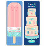 Calm & Cool Happy Birthday Bookmarks:Primary Classroom Resources