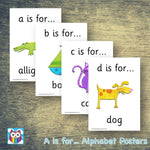 A is for... Posters:Primary Classroom Resources