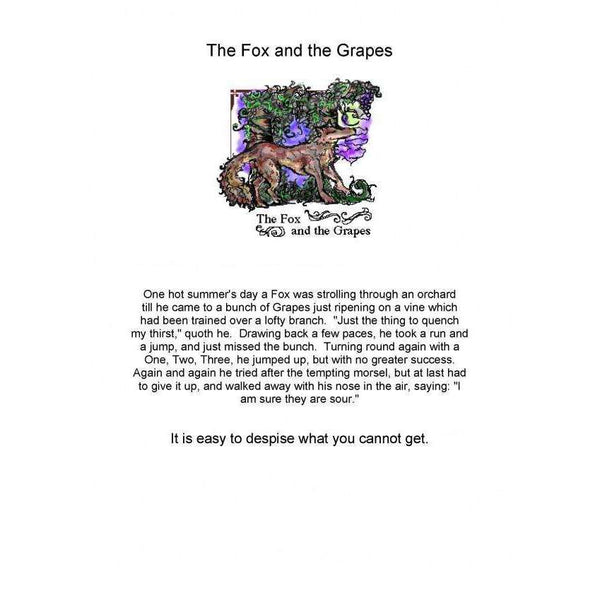 Aesops Fables Sheets