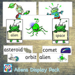 Aliens Display Pack:Primary Classroom Resources