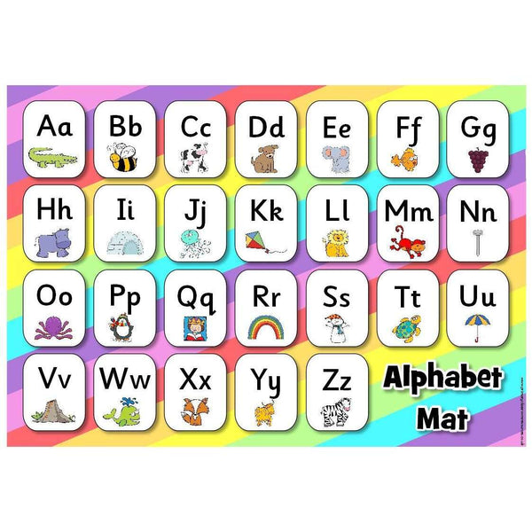 Alphabet Mat (Colour):Primary Classroom Resources