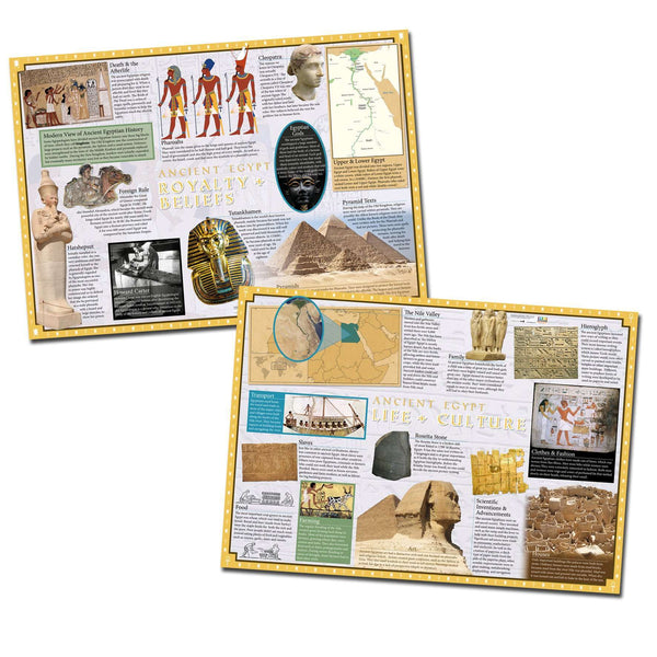 Ancient Egypt Poster (Set of 2)
