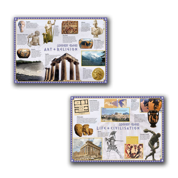 Ancient Greece Poster (Set of 2):Primary Classroom Resources