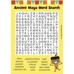 Ancient Maya - Word Search:Primary Classroom Resources