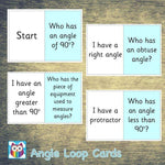 Angle Loop Cards:Primary Classroom Resources,Digital download