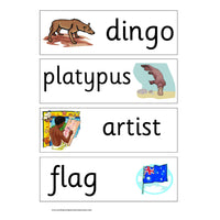 Australia Display Pack:Primary Classroom Resources