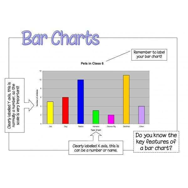 Bar Charts Poster:Primary Classroom Resources