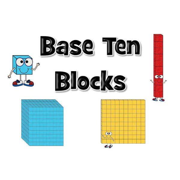 Base Ten Display Pack:Primary Classroom Resources