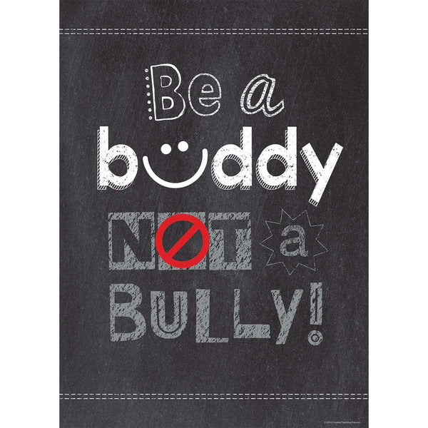 Be a Buddy Not a Bully - Inspire U Poster