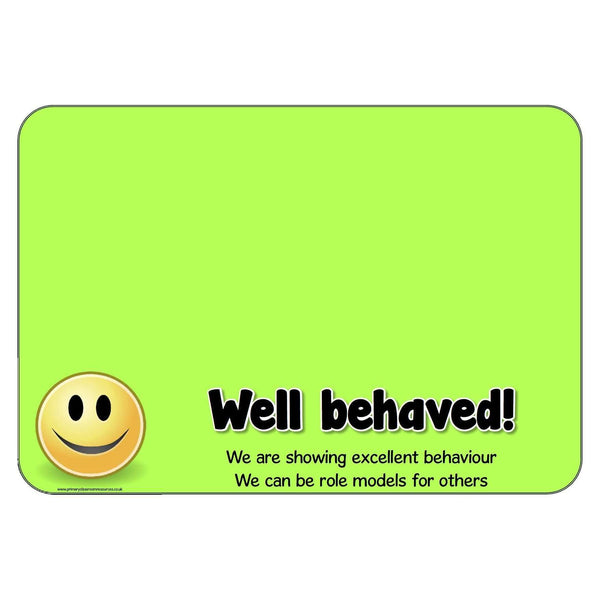 Behaviour Management Charts