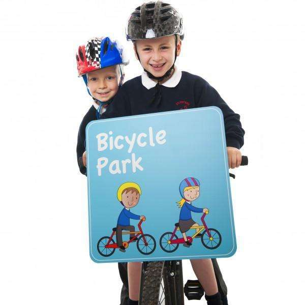 Bicycle Park Sign:Primary Classroom Resources
