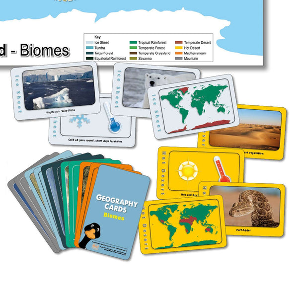 Biomes Card Game
