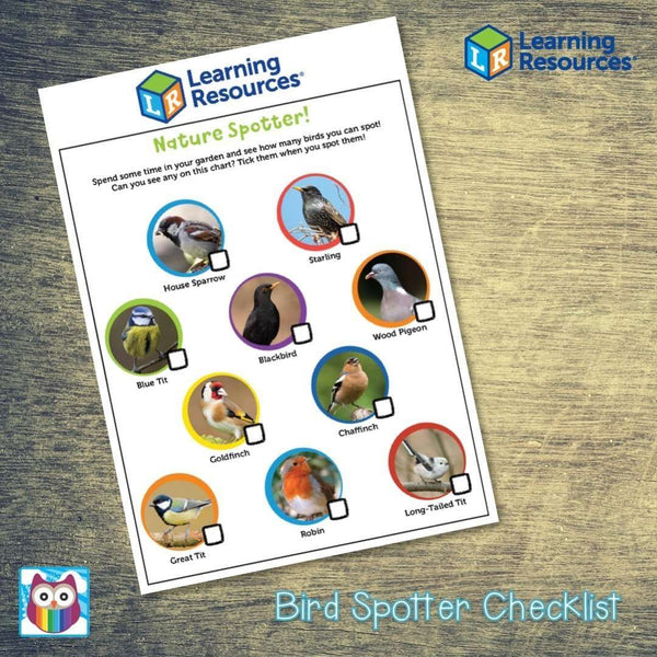 Bird Spotting Checklist:Primary Classroom Resources