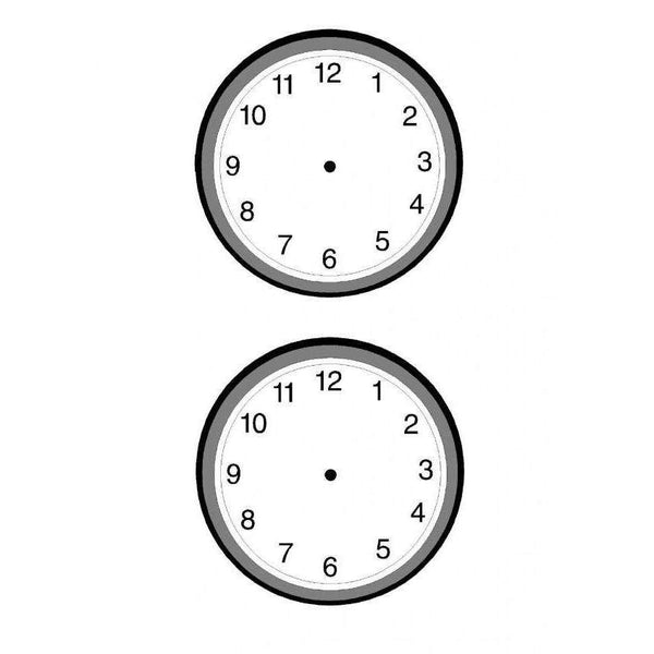 Blank Clocks:Primary Classroom Resources