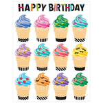 Bold & Bright Happy Birthday Poster:Primary Classroom Resources