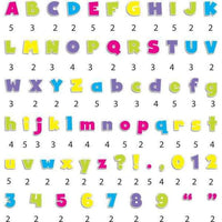 "Bold Brights 4"" Designer Display Letters:Primary Classroom Resources"