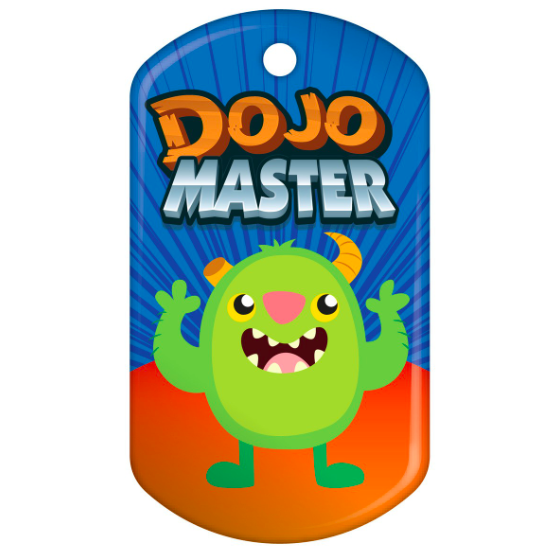 BragTag - Classic - Dojo Master - Pack of 10:Primary Classroom Resources