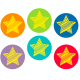 Bright Stars Hot Spot Classroom Reward Stickers:Primary Classroom Resources