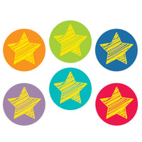 Bright Stars Hot Spot Stickers