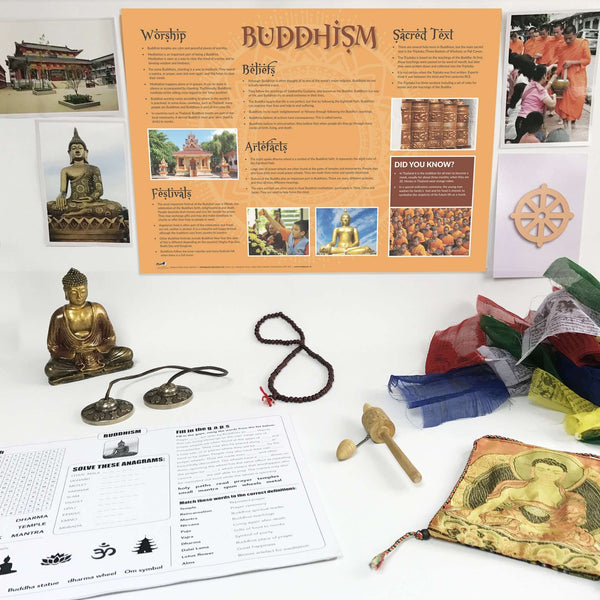 Buddhism Artefacts Pack:Primary Classroom Resources
