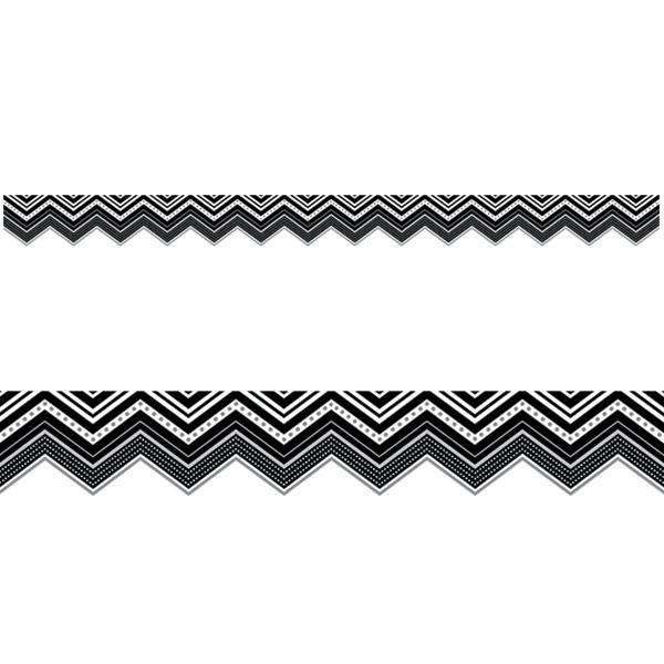 BW Collection Chevron Display Border:Primary Classroom Resources