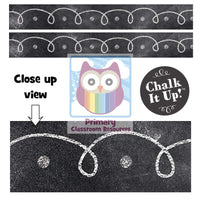 Chalk It Up! Dots & Loops Classroom Display Border:Primary Classroom Resources