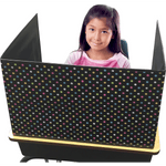 Chalkboard Brights Privacy Screen:Primary Classroom Resources